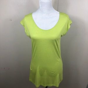 Neon Green Tunic by Mossimo Size Medium